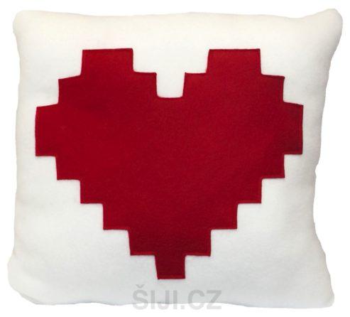 polstarek-pixel srdce