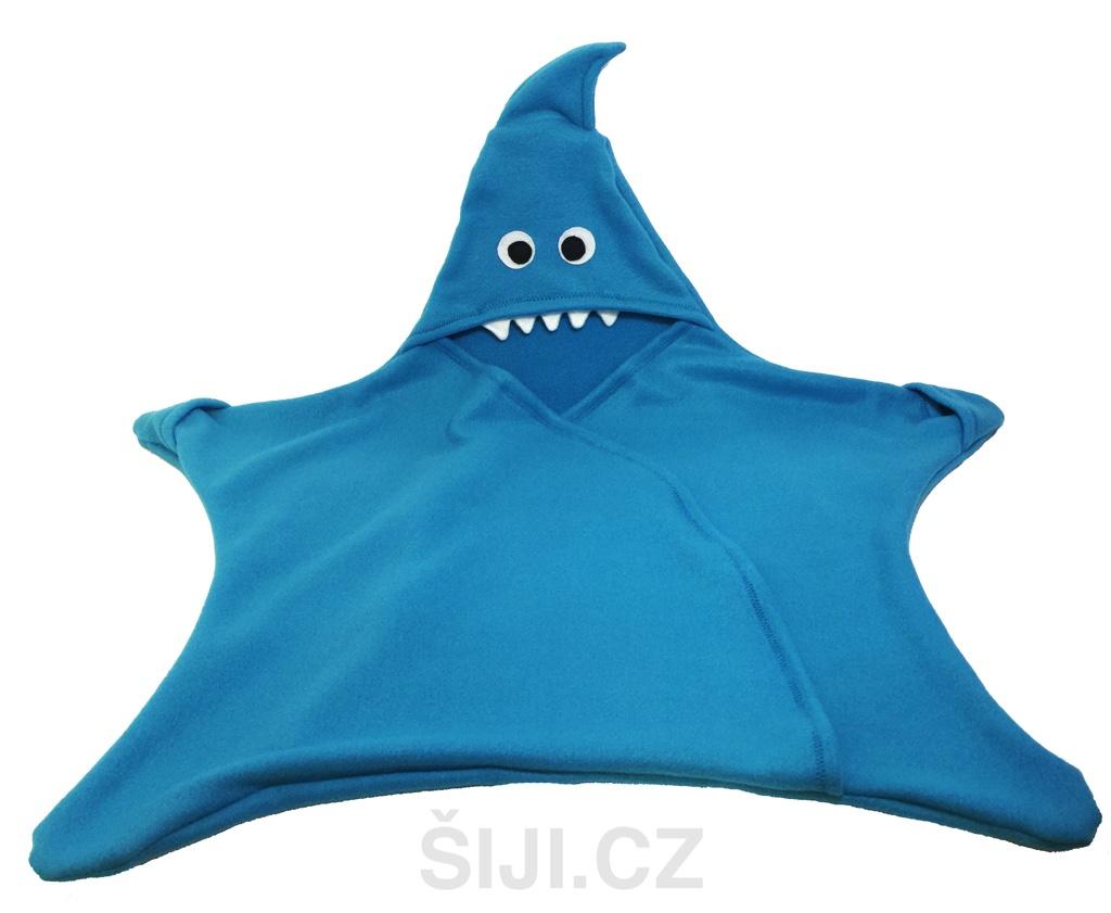 8ad7ac71c Dětská multifunkční zavinovačka (Fusak) Žralok | Šiji.cz - ručně ...
